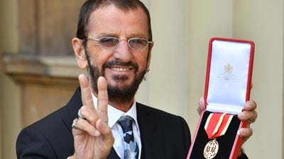 Beatles Drummer Receives Knighthood For Services To Music