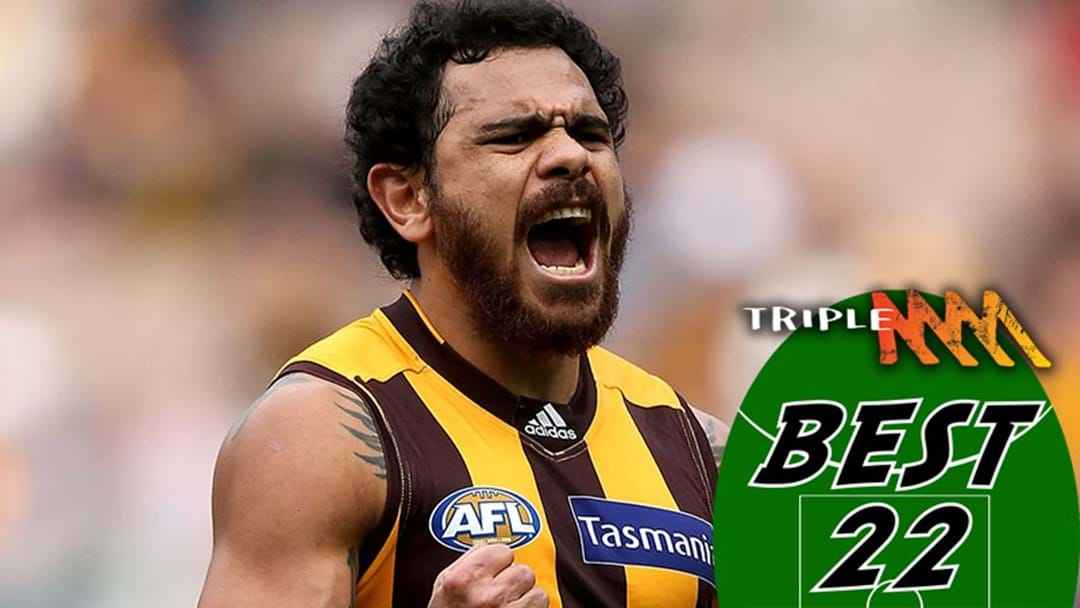 Hawthorn's Best 22 For 2018
