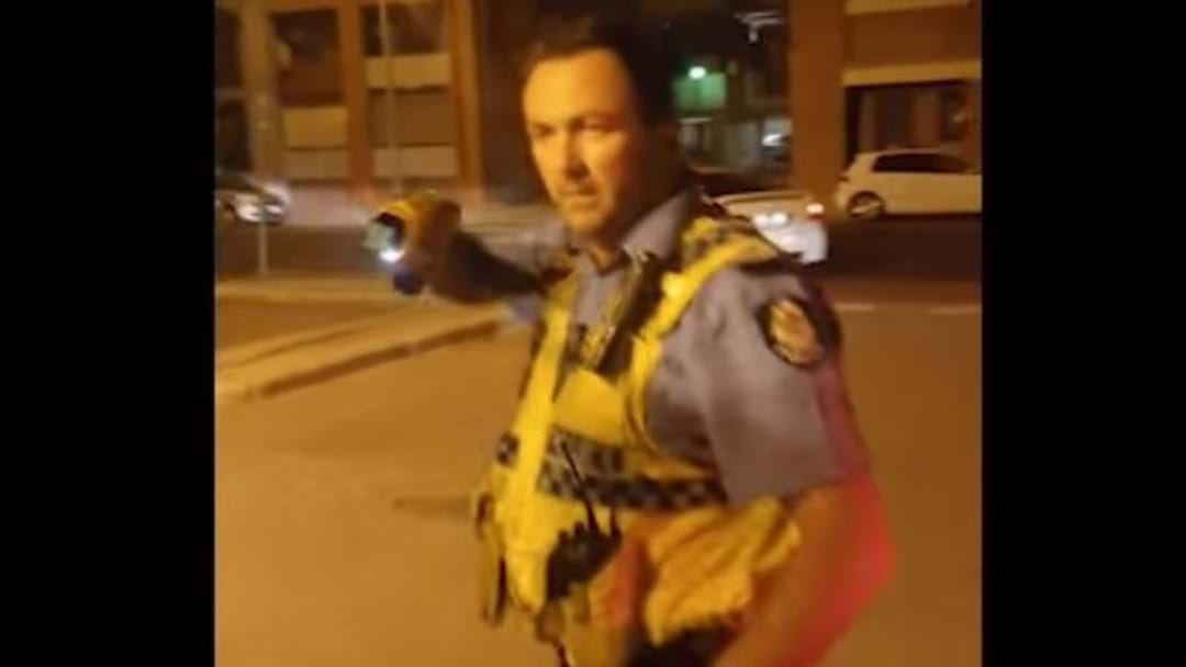 Footage Released Of Police Tasering In Freo