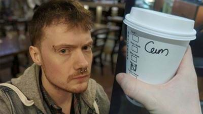 """Bloke Called """"Cam"""" Sick Of Starbucks Stuffing Up His Name"""