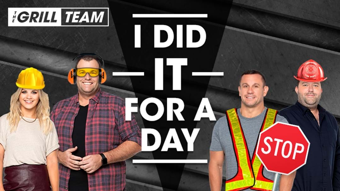 The Triple M Grill Team's 'I Did It For a Day'