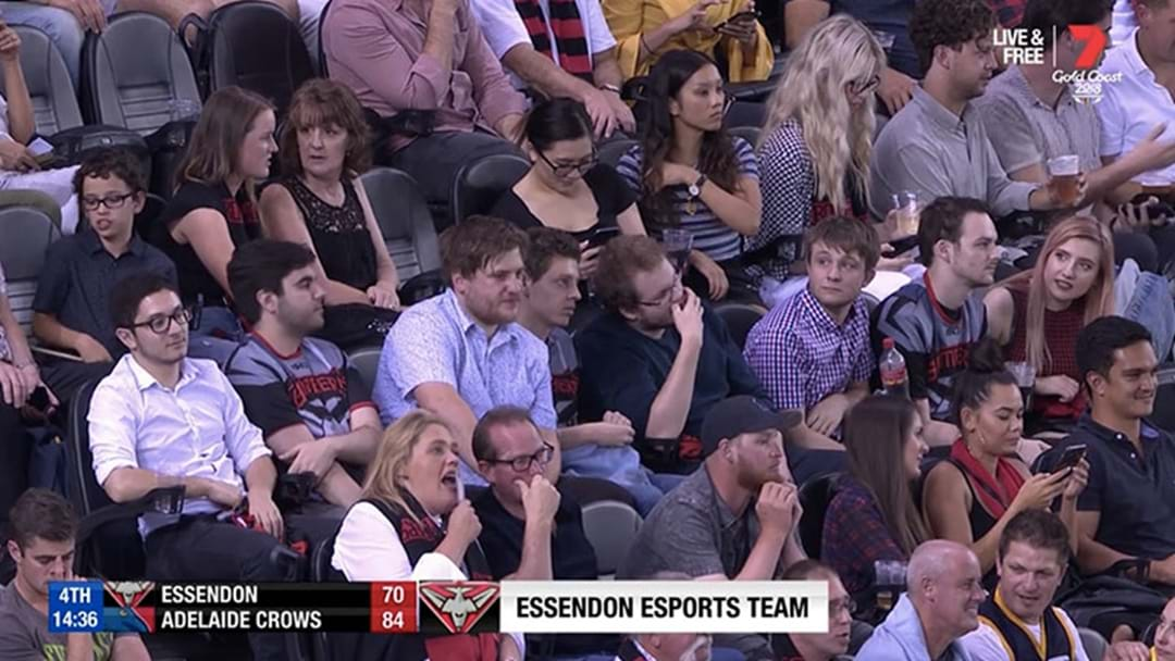 BT Took The Piss Out Of Essendon's Esports Team On The Footy Coverage Tonight