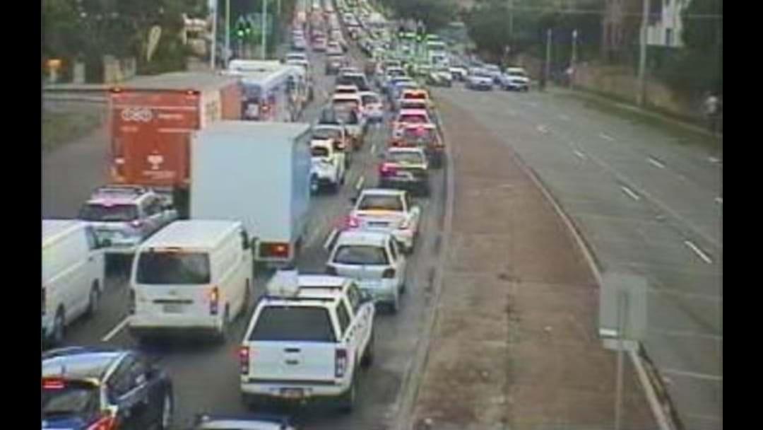 M5 Still Reeling After Three-Vehicle Smash This Morning