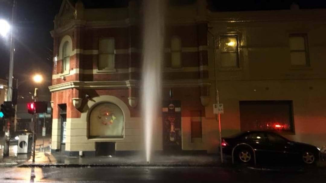 Popular Live Music Venue Flooded After Idiot Drives Into Fire Hydrant