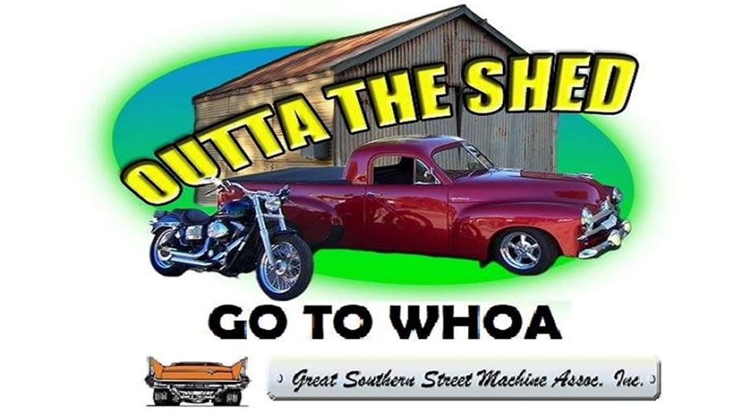 Go to Whoa! Outta the Shed event this Saturday