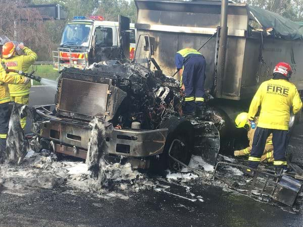 Article heading image for Traffic On The M4 Heavy After Truck Fire