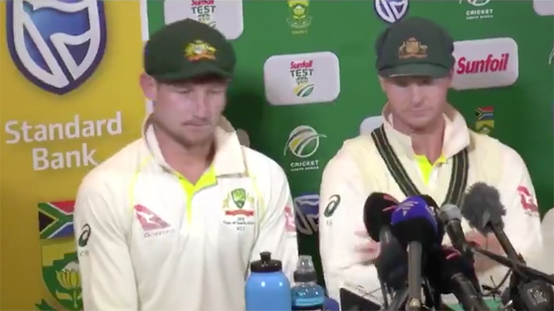 Australia coach Darren Lehmann apologises for ball-tampering scandal