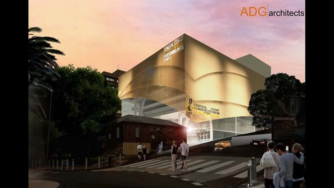 Conservatorium's Bold Arts Centre Plan For Gosford