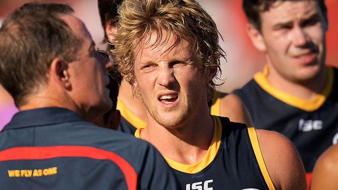 Rory Sloane Provides An Update On His Foot Injury