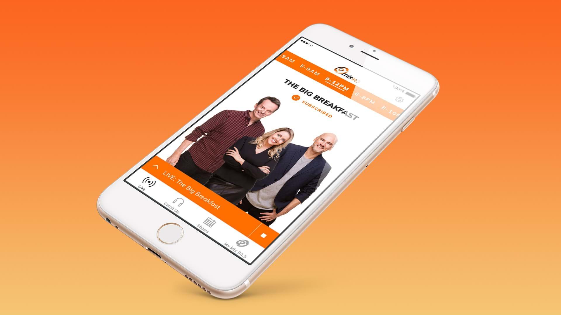 Mix94.5 app