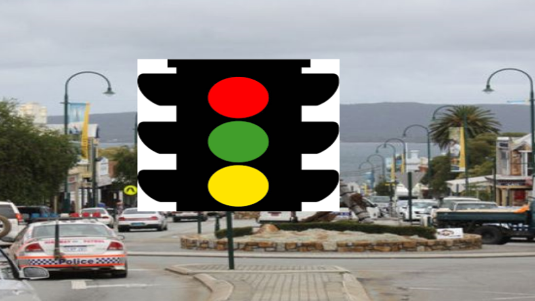 Traffic lights for Albany