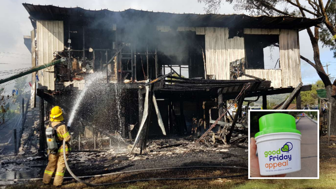Rosebud Firies Fundraise For Good Friday, Casually Put Out A House Fire, Keep Fundraising