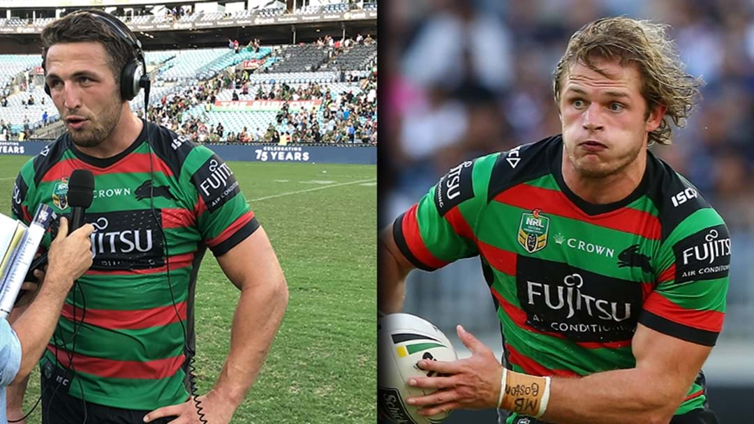 Sam Burgess Rips Into Brother George About Going Bald