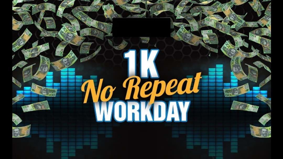 1K No Repeat Workday
