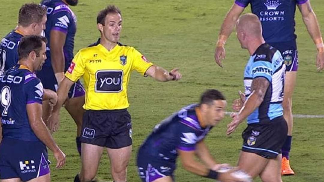 Another Sharks Player Takes A Cheeky Dig Towards Billy Slater