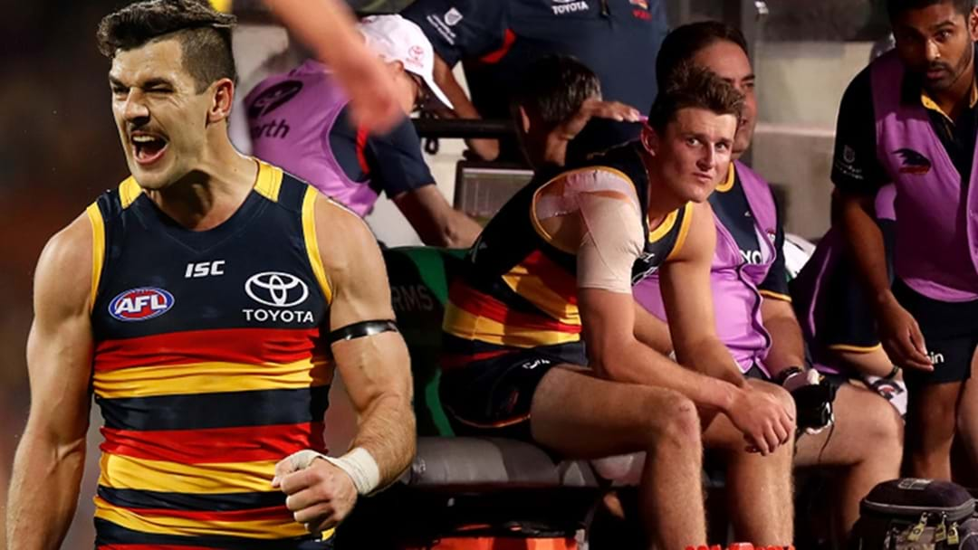 Tex Walker Reveals The Severity Of Matt Crouch's Hamstring Injury
