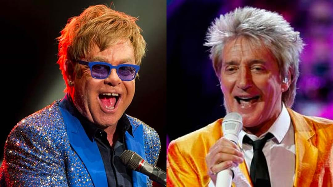 The Hilarious 50 Year Feud Between Elton John And Rod Stewart