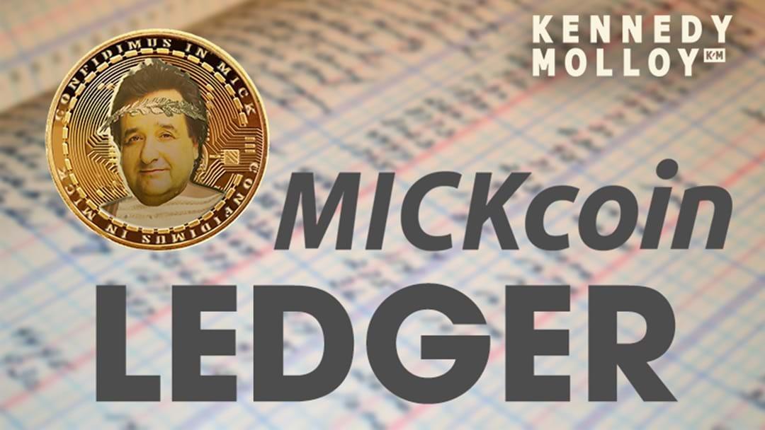 Mickcoin Ledger