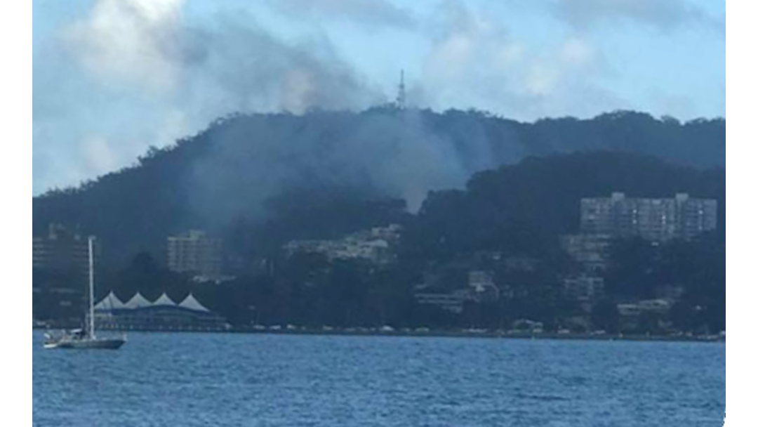 Fire At Derelict House In Gosford CBD
