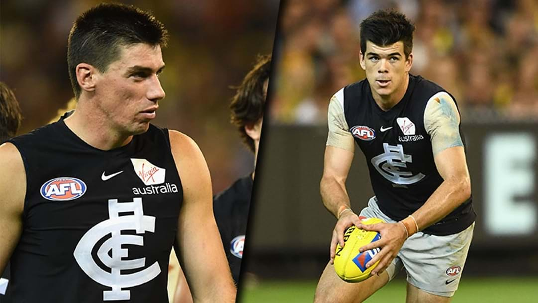 Matt Kreuzer And Matt Kennedy Will Play For Carlton This Week