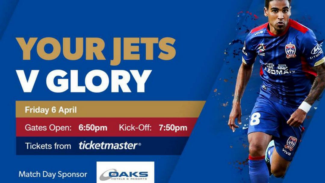 Jets v Perth this Friday!