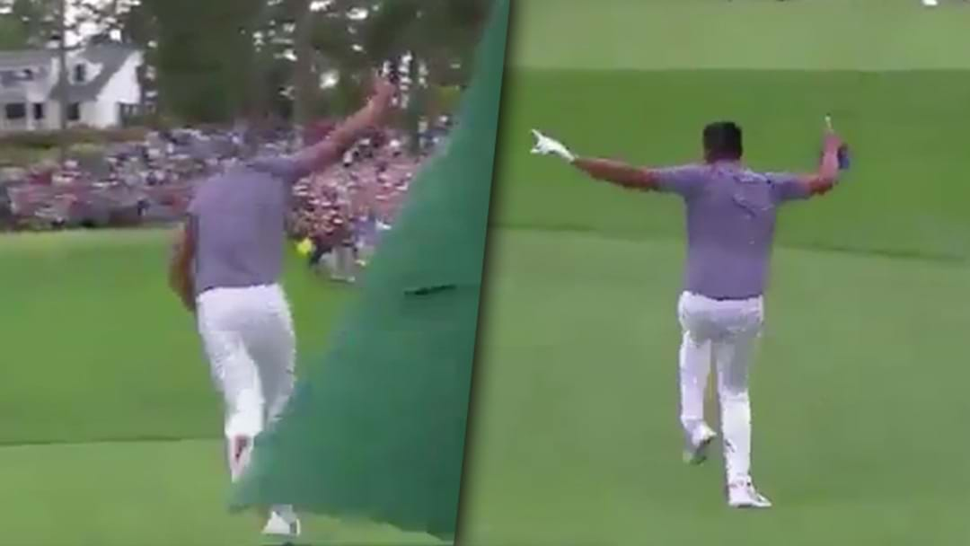 Golf Player Hits Hole In One, Dislocates His Ankle Trying To Celebrate