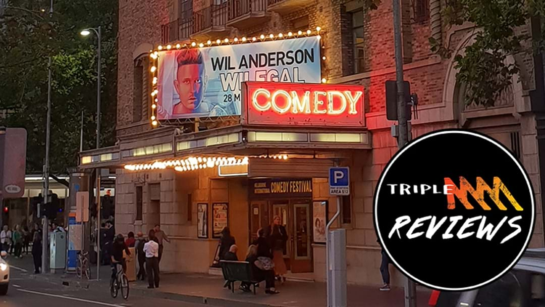 REVIEW: Wil Anderson - Wilegal