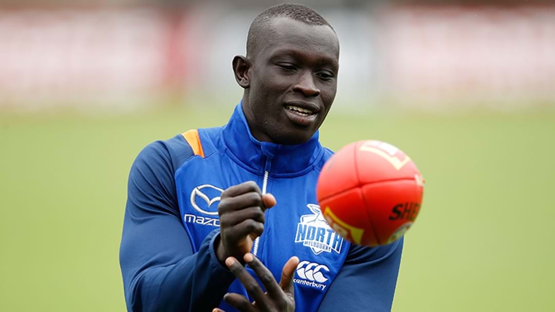 Majak Daw Returns As North Melbourne Forced To Make Late Change
