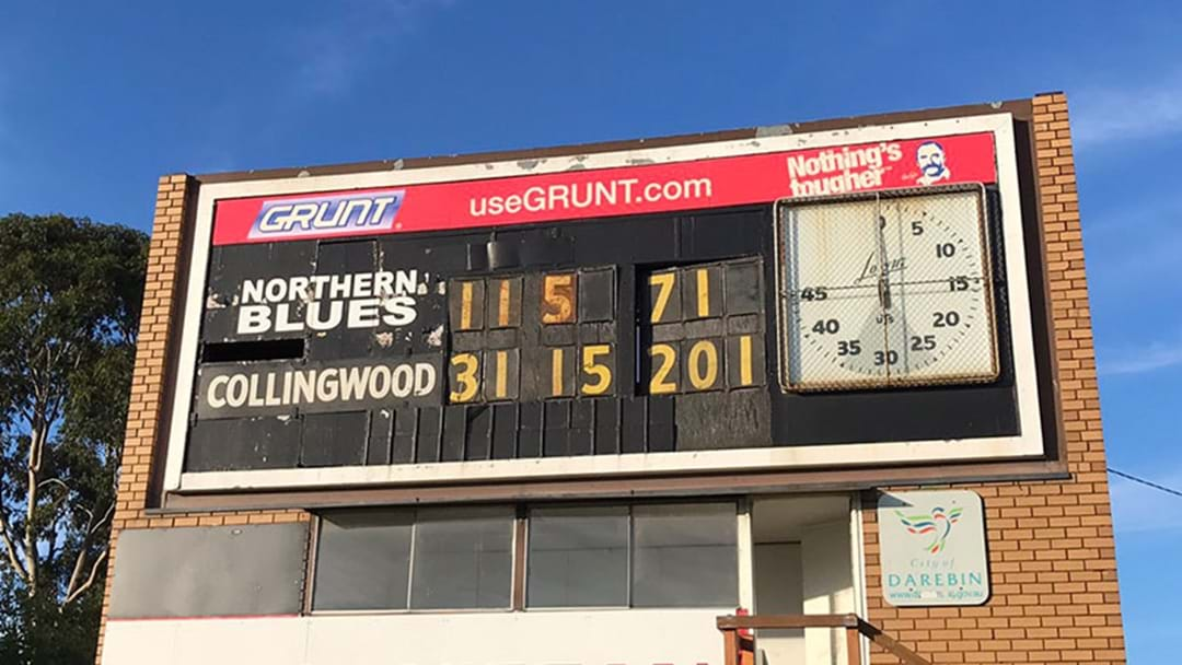 Collingwood's VFL Side Put Up 200 Points On The Northern Blues Today