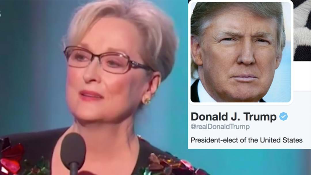 Donald Trump Woke Up At 5AM To Tweet About Meryl Streep