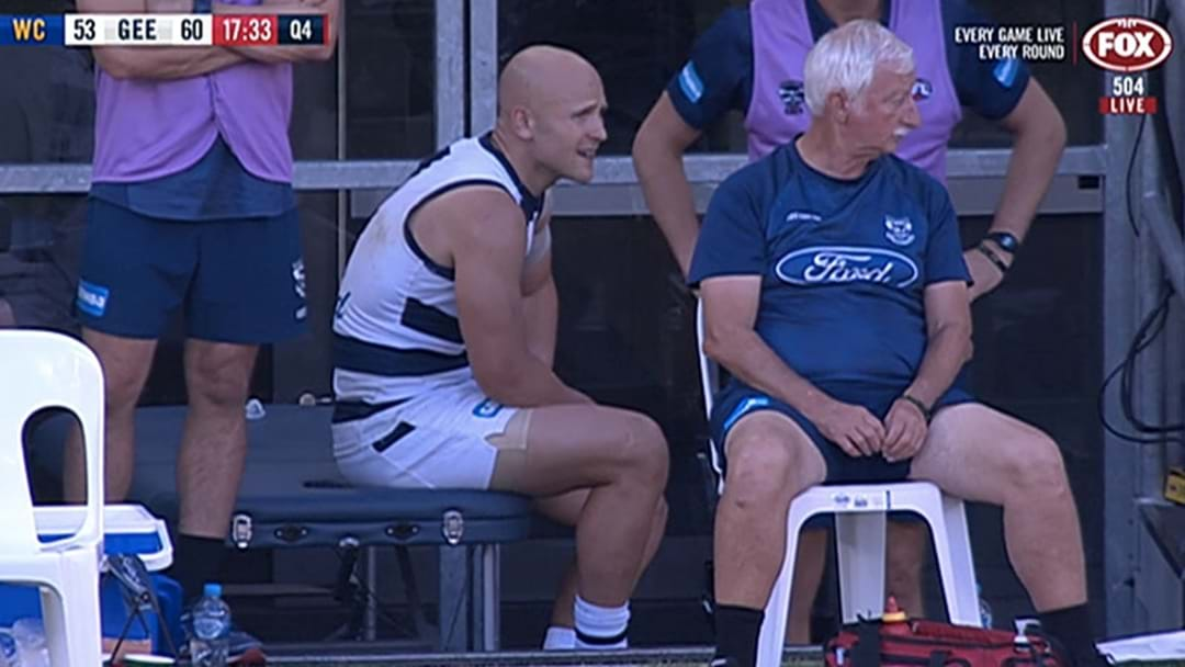 Gary Ablett Has Done His Hamstring