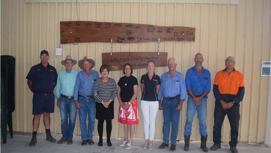 Cattle Auction Breeds Success for LifeFlight