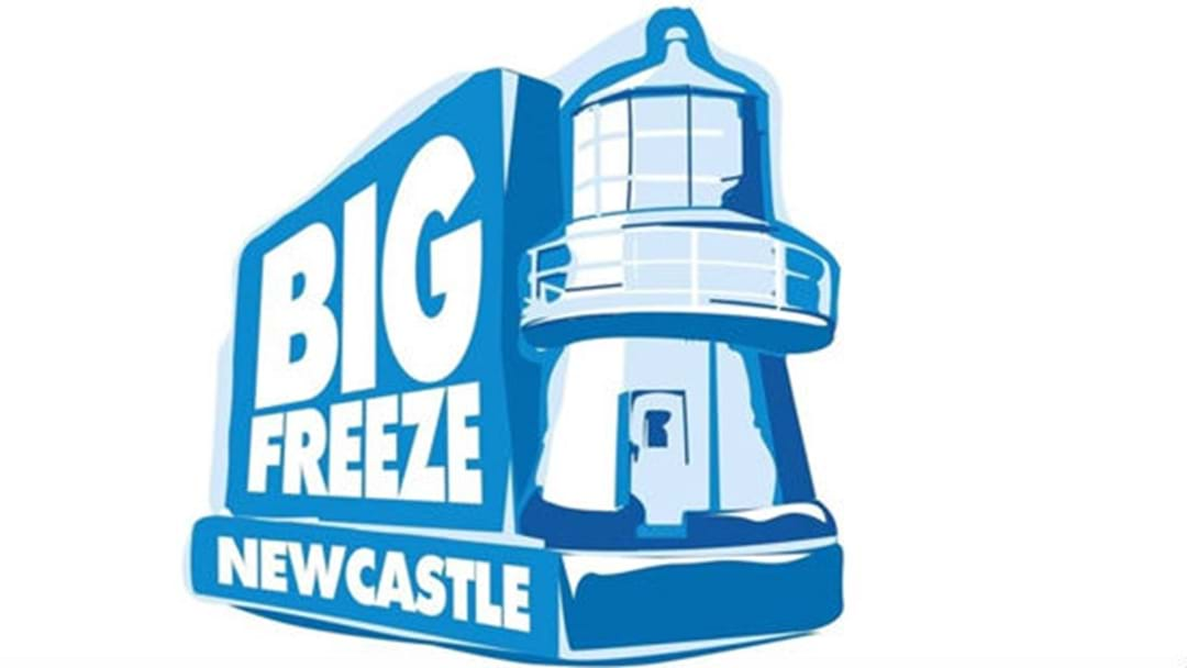 KOFM Supports The Big Freeze Newcastle 2018