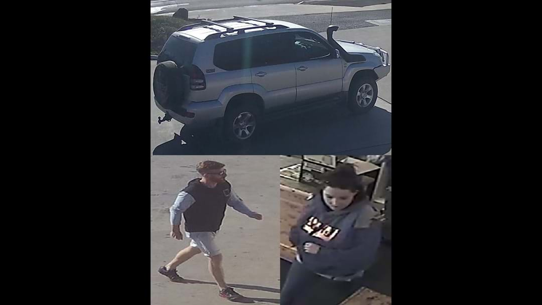 Couple wanted over crime series. Police seeking information
