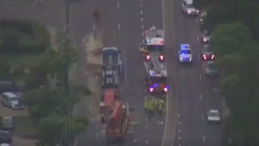 One Dead After Being Crushed Between Two Trucks In Bankstown
