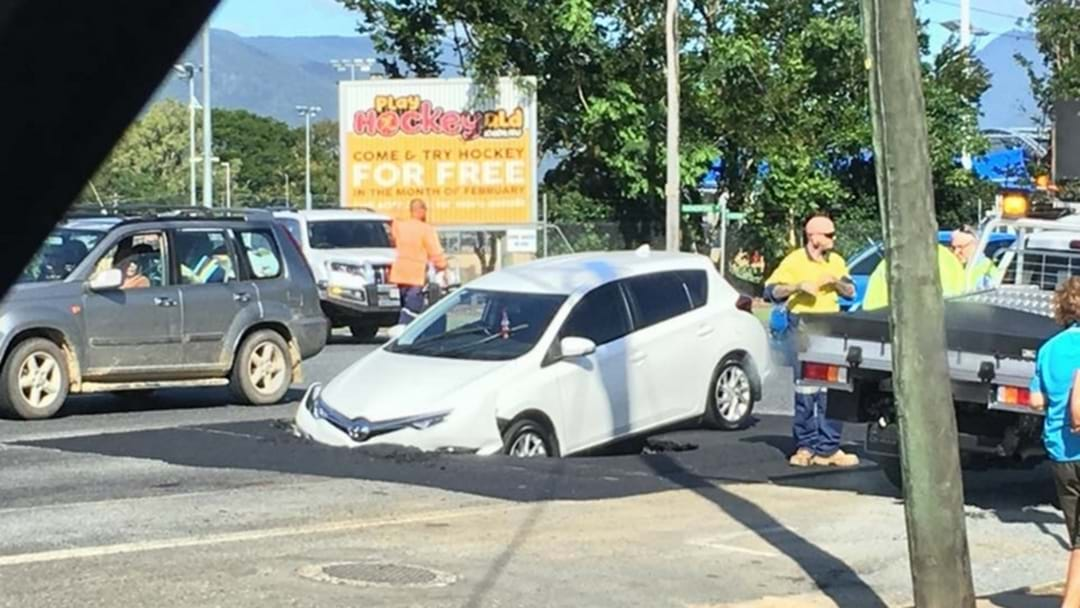 Cairns Sinkhole Still Causing Delays