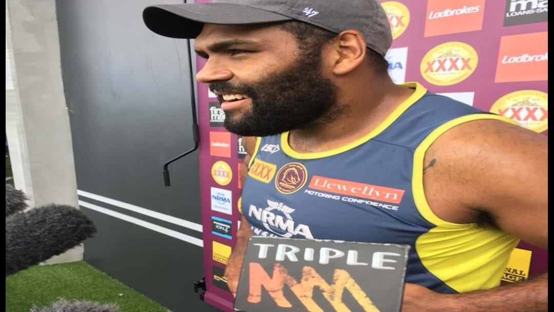 Sam Thaiday Doesn't Hold Back!
