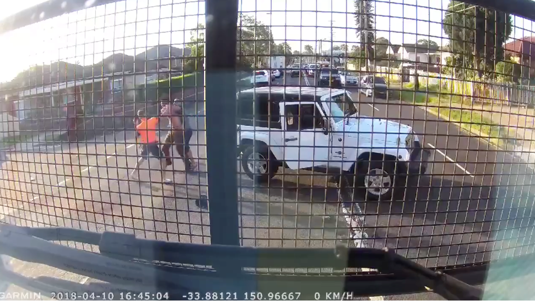 Dash Cam Footage Captures Bloke Pulling Out Chainsaw In Western Sydney Road Rage Brawl