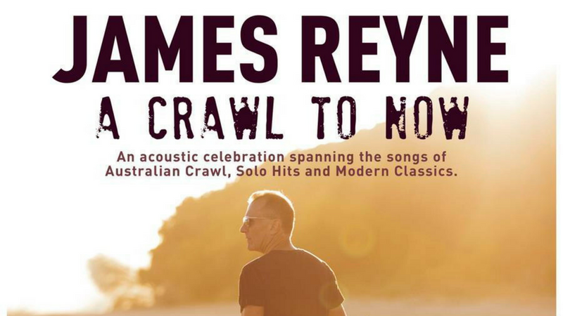 Article heading image for Lu and Matt catch up with Aussie Rock Royalty - James Reyne!