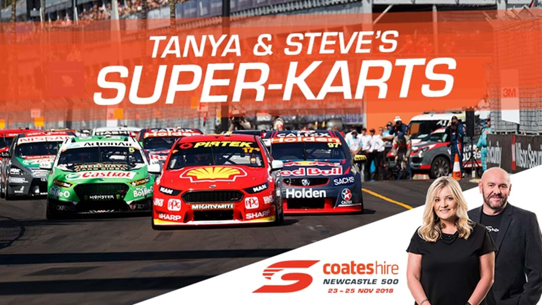 Tanya and Steve's Super-Karts!