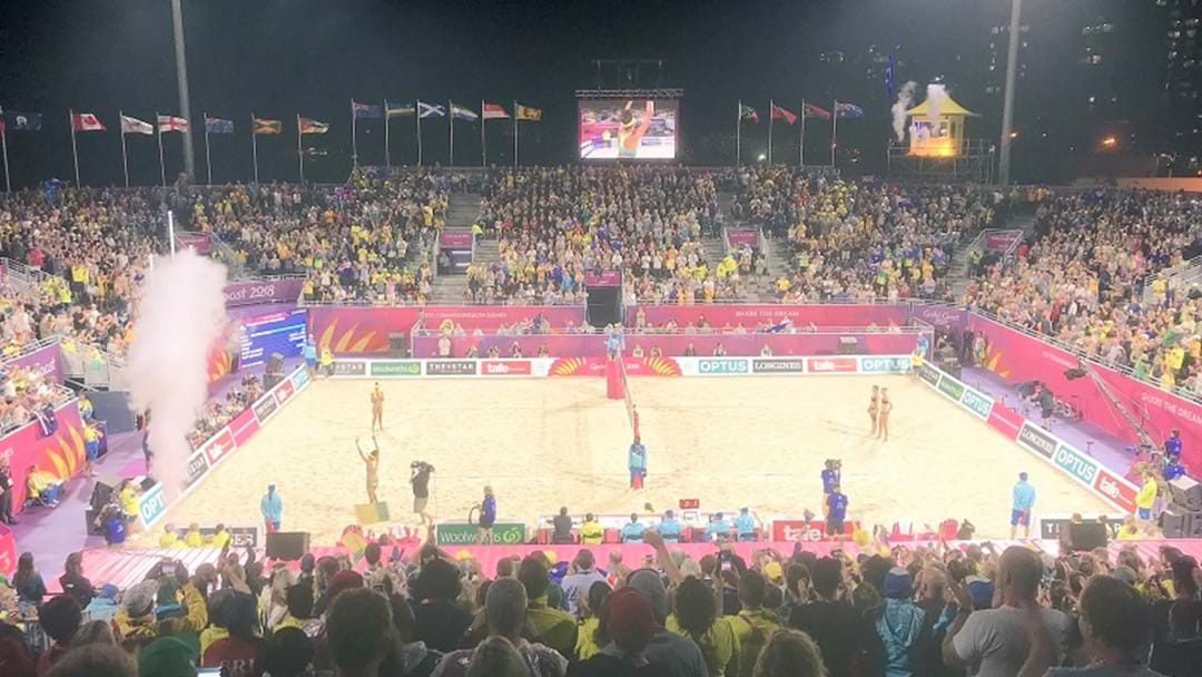 Calls For Beach Volleyball Stadium To Stay