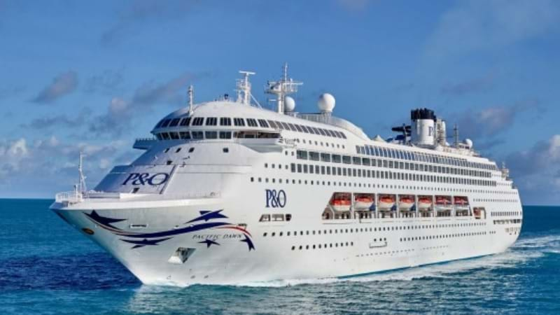 Woman missing after fall from cruise ship