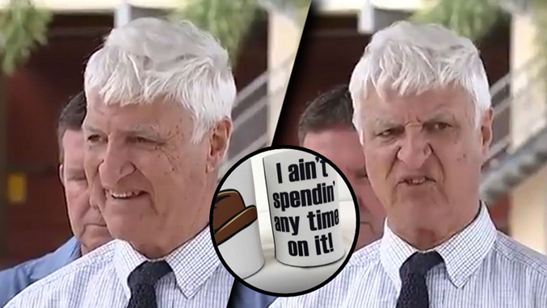 You Can Now Have Bob Katter Catch Phrase Mugs and Stubby Coolers