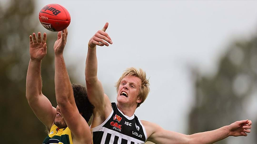 A SANFL Side Went Goalless For Three Quarters Today And Didn't Lose
