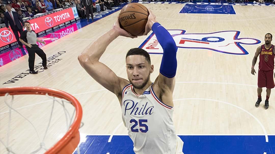 Ben Simmons Leads 76ers To First Playoff Win