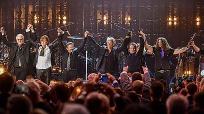 Check Out Bon Jovi's Performance At The Rock And Roll Hall Of Fame