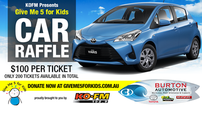 KOFM's Give Me 5 For Kids Car Raffle