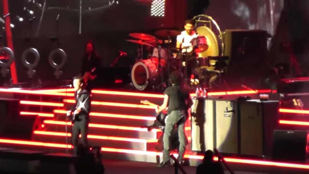 WATCH: Fan Kill It On The Drums With The Killers