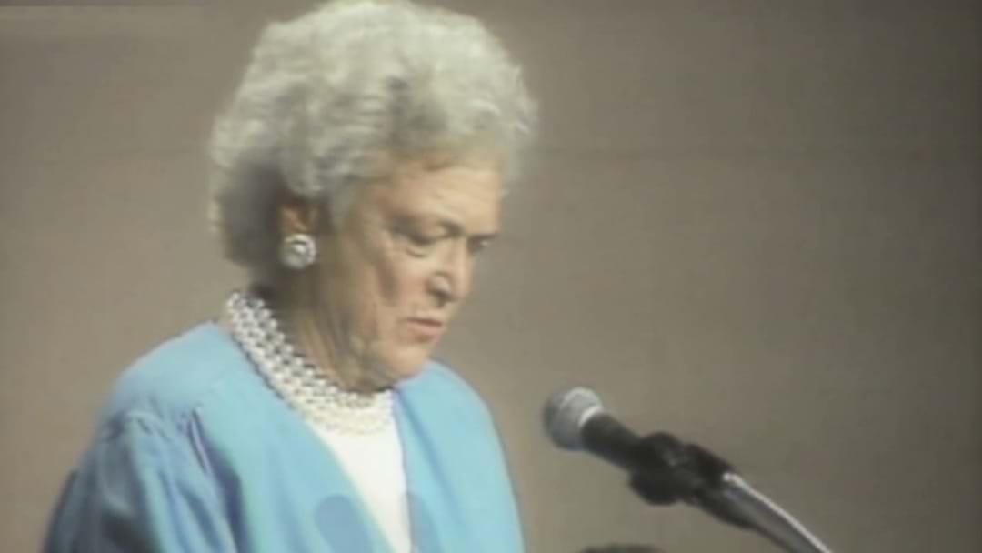 Former First Lady Barbara Bush Has Passed Away
