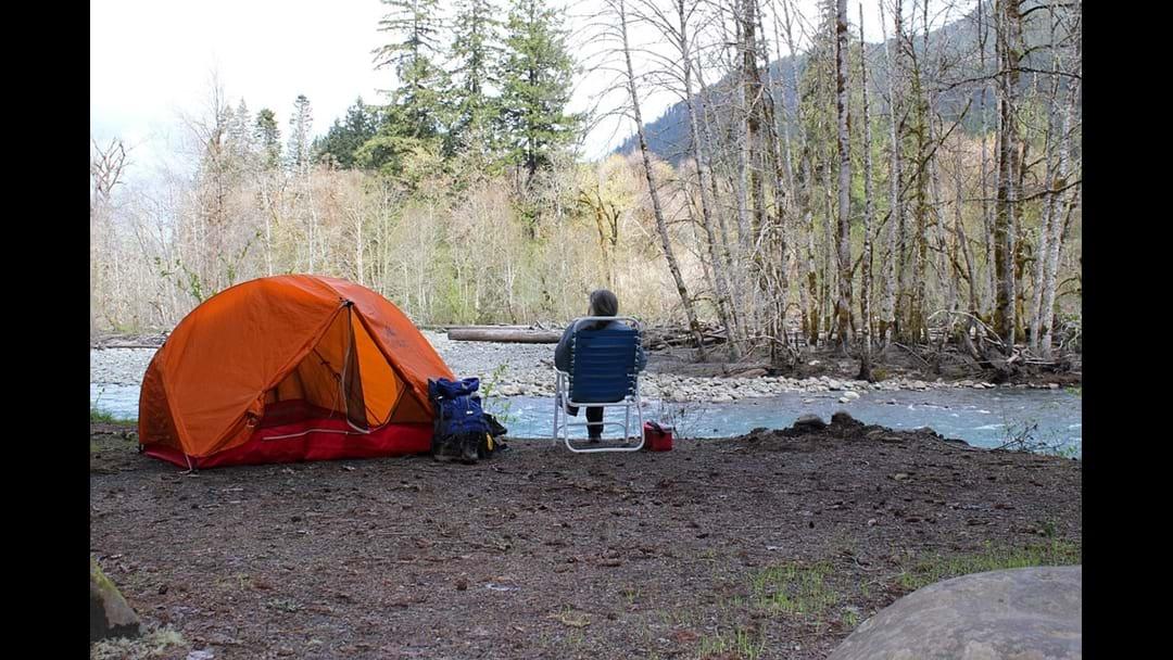 A Free campsite